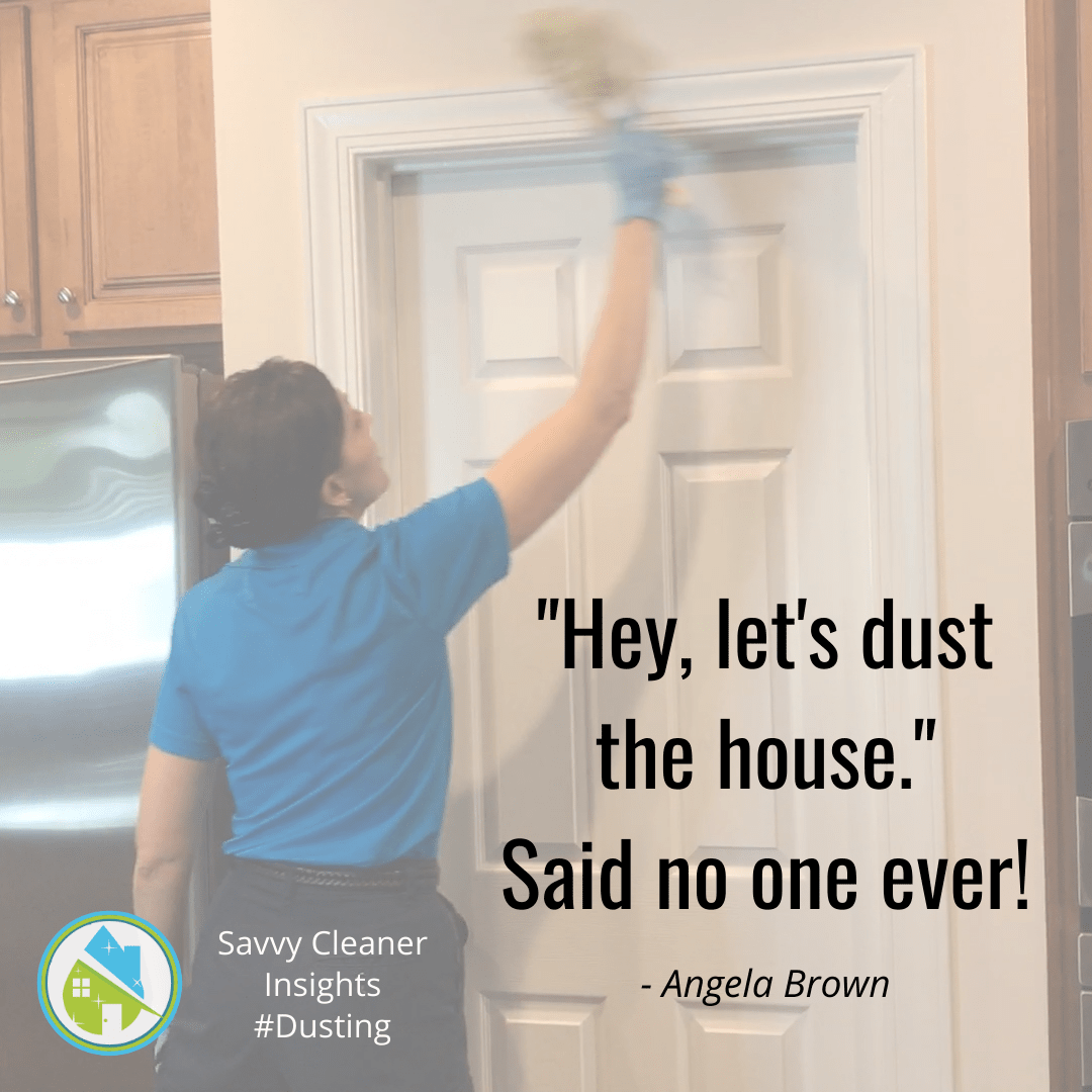 Angela Brown Motivation - Lets Dust the House