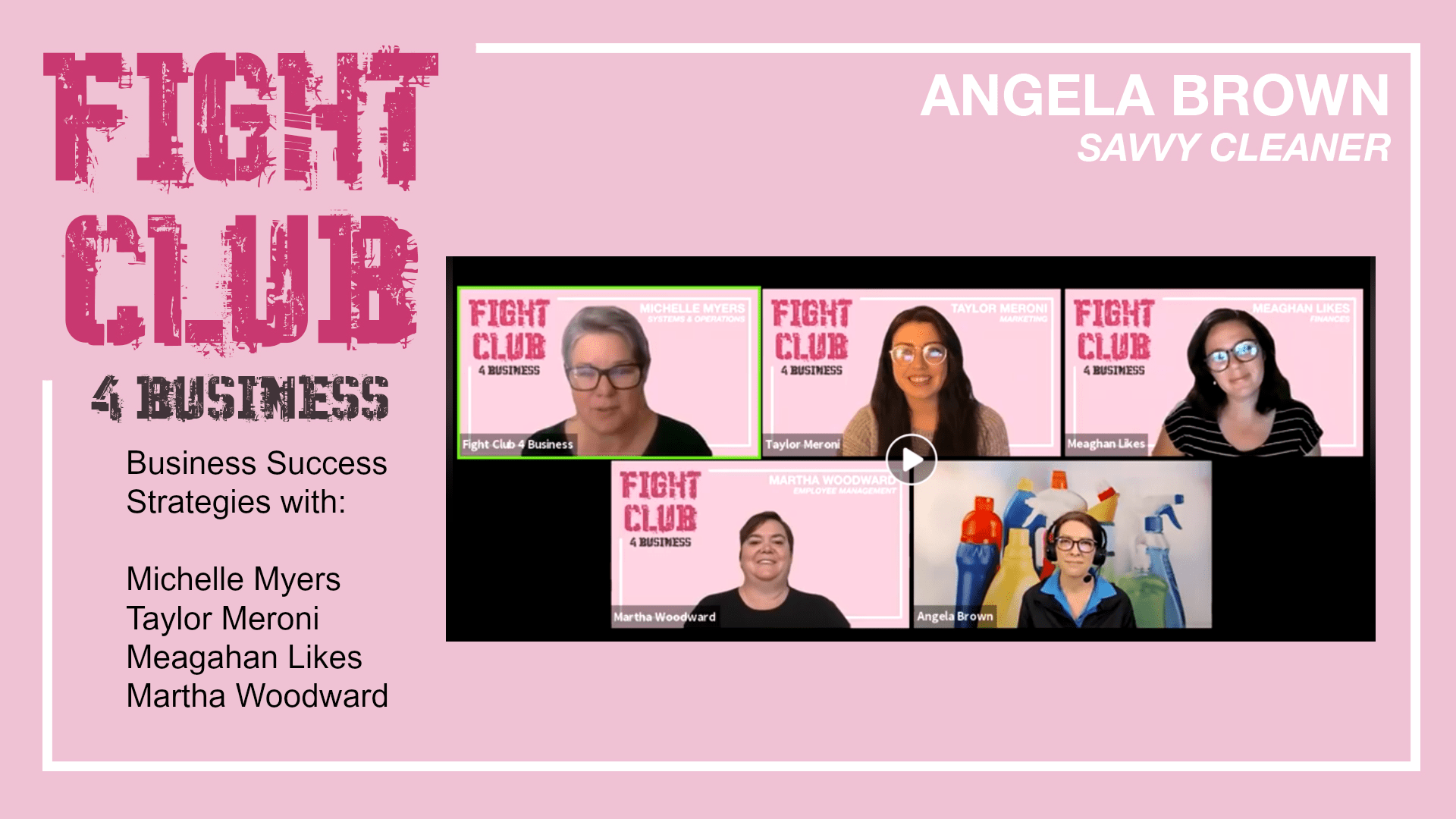 Fight Club for Business with Angela Brown