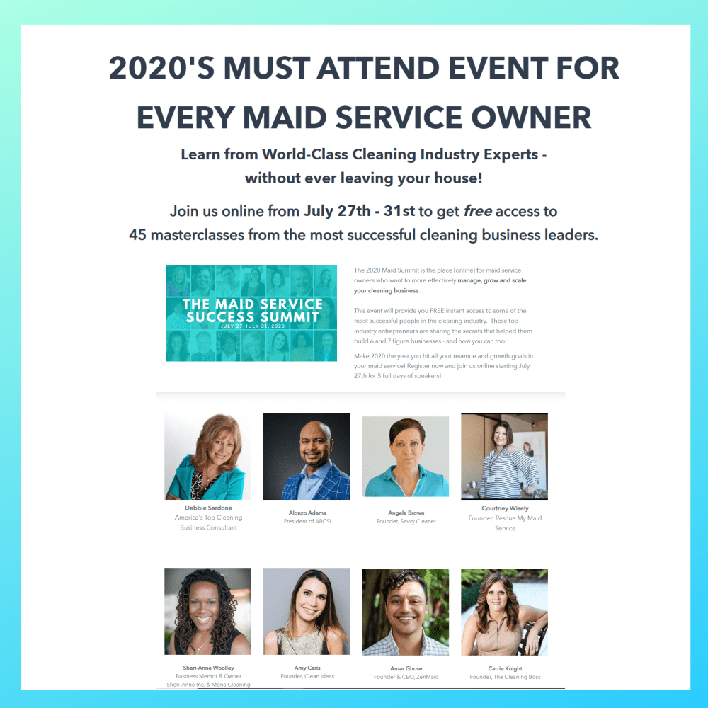ZenMaid Summit 2020 featuring Angela Brown